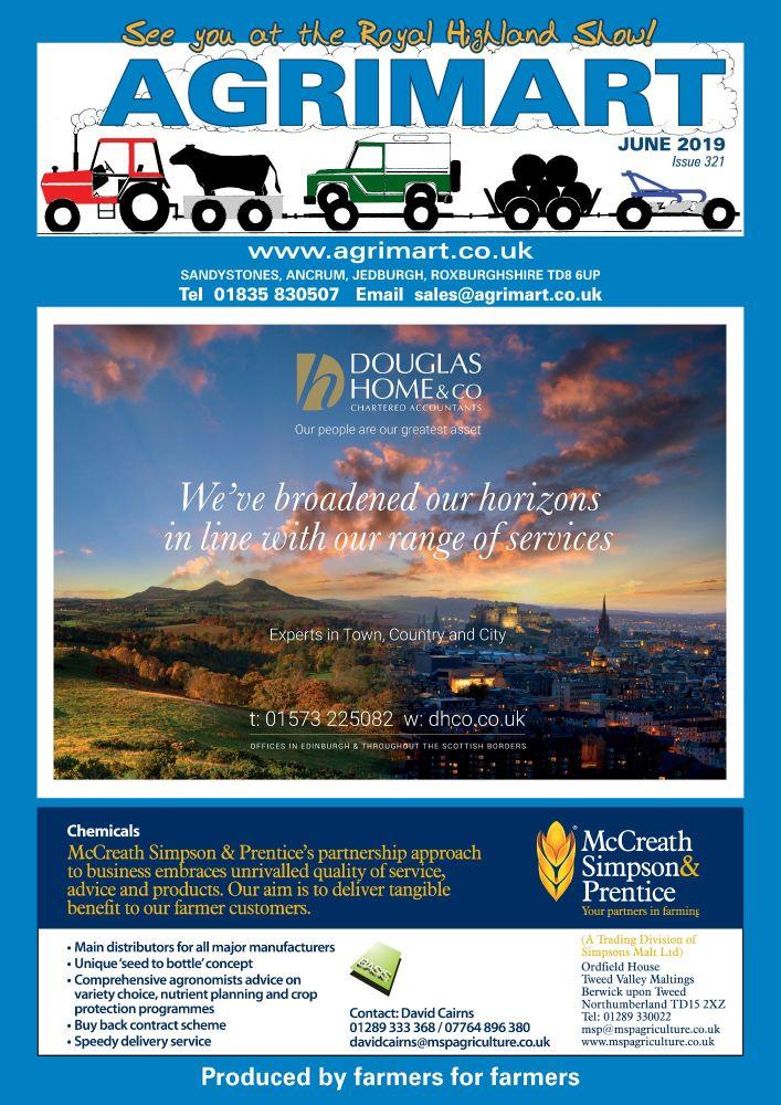 AGRIMART JUNE 2019 COVER