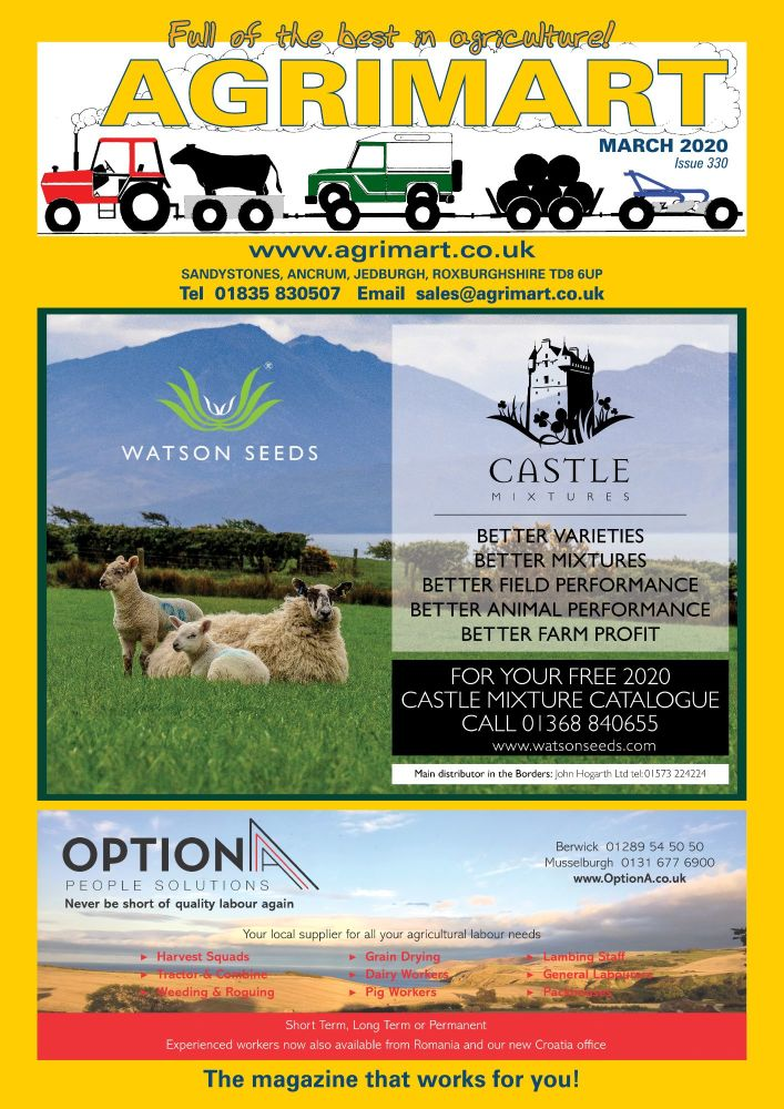 AGRIMART MARCH 2020 COVER