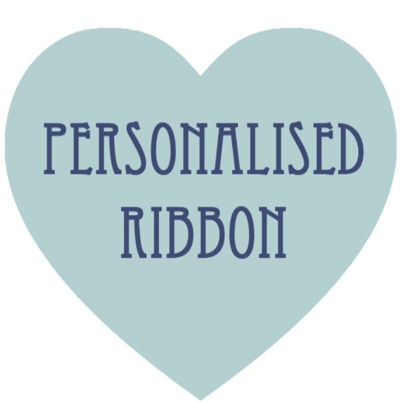 Cat Heart - personalised ribbon