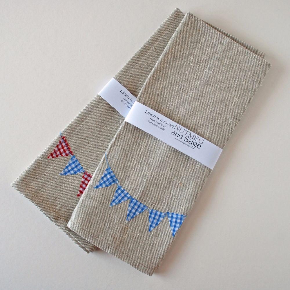 Nutmeg and Sage tea towels