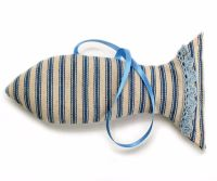 Fish shape lavender bag