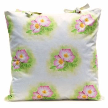 Rosa Canina large cushion