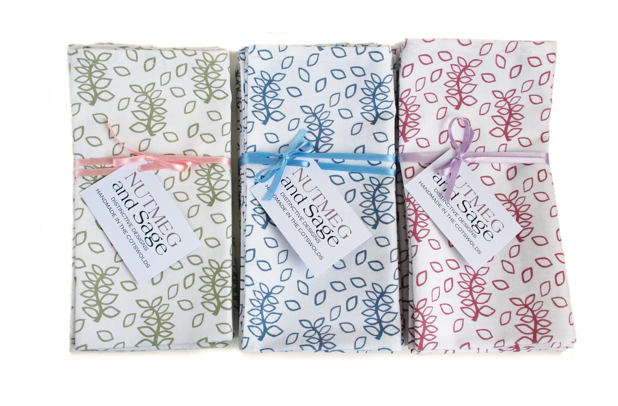Napkins - designed and made in the Cotswolds
