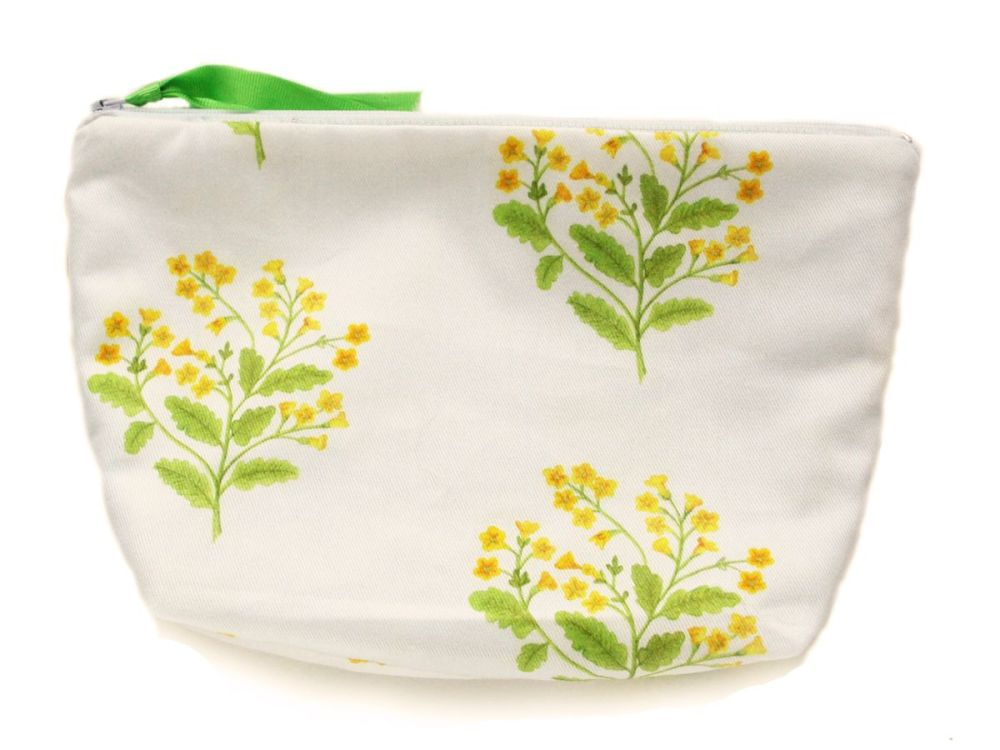 Cowslip cosmetic pouch