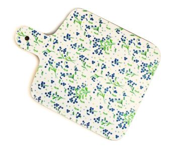 Forget-Me-Not chopping board