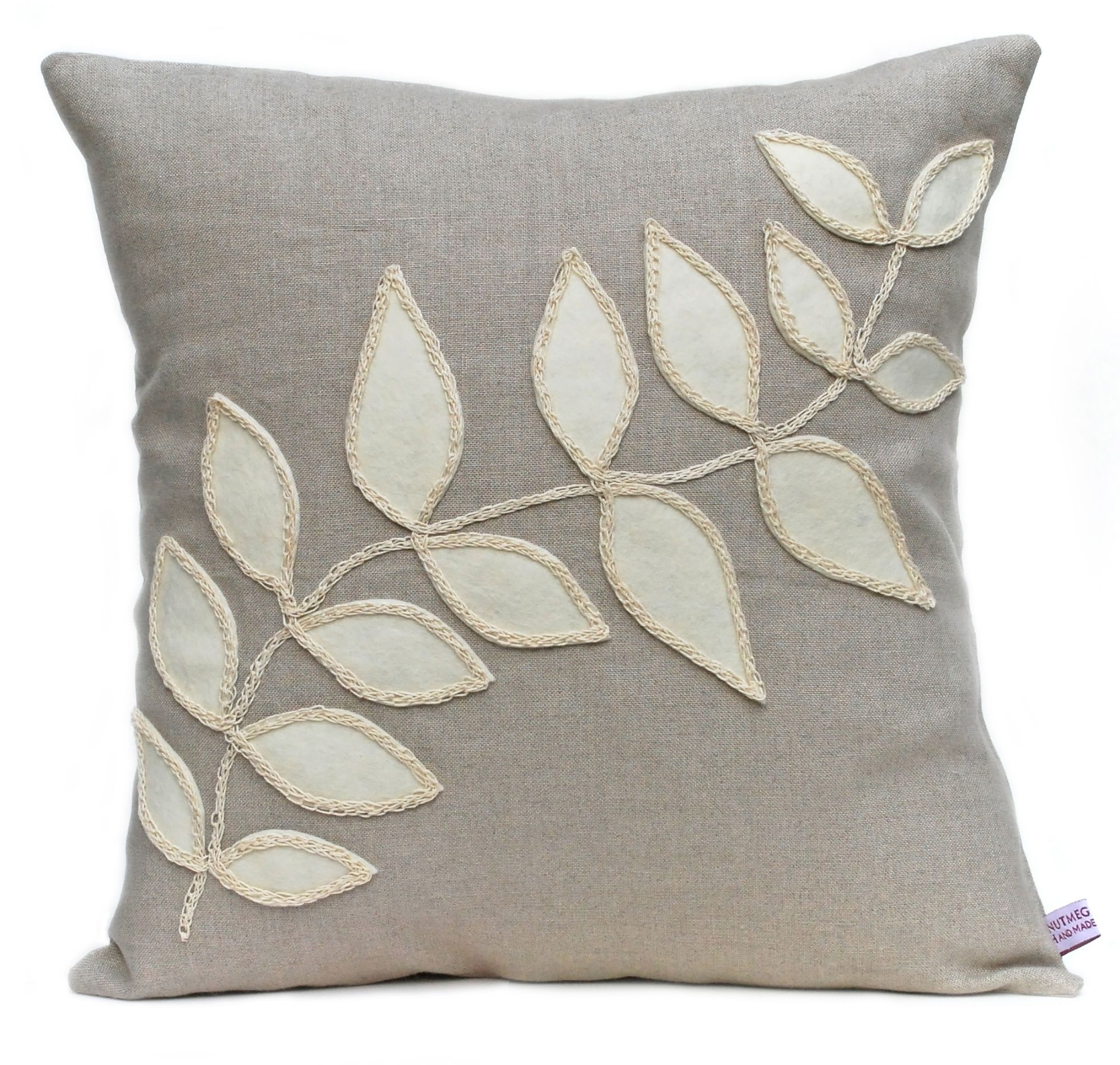 Nutmeg and Sage bespoke and handmade to order accent cushions