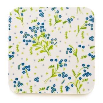 Forget-Me-Not coasters