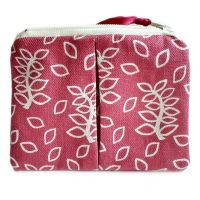 Dusky leaves coin purse