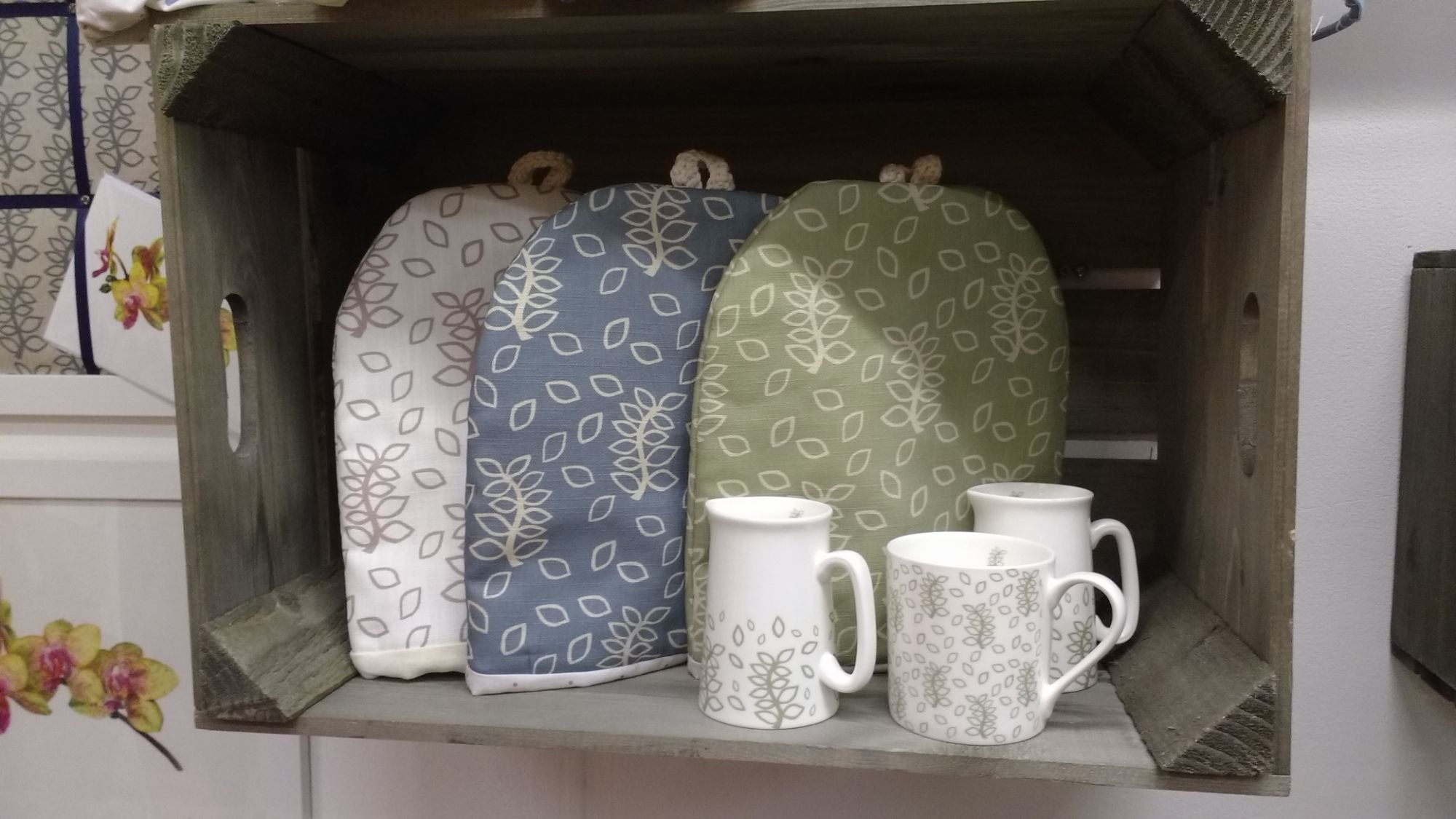 Nutmeg and Sage kitchen table wares