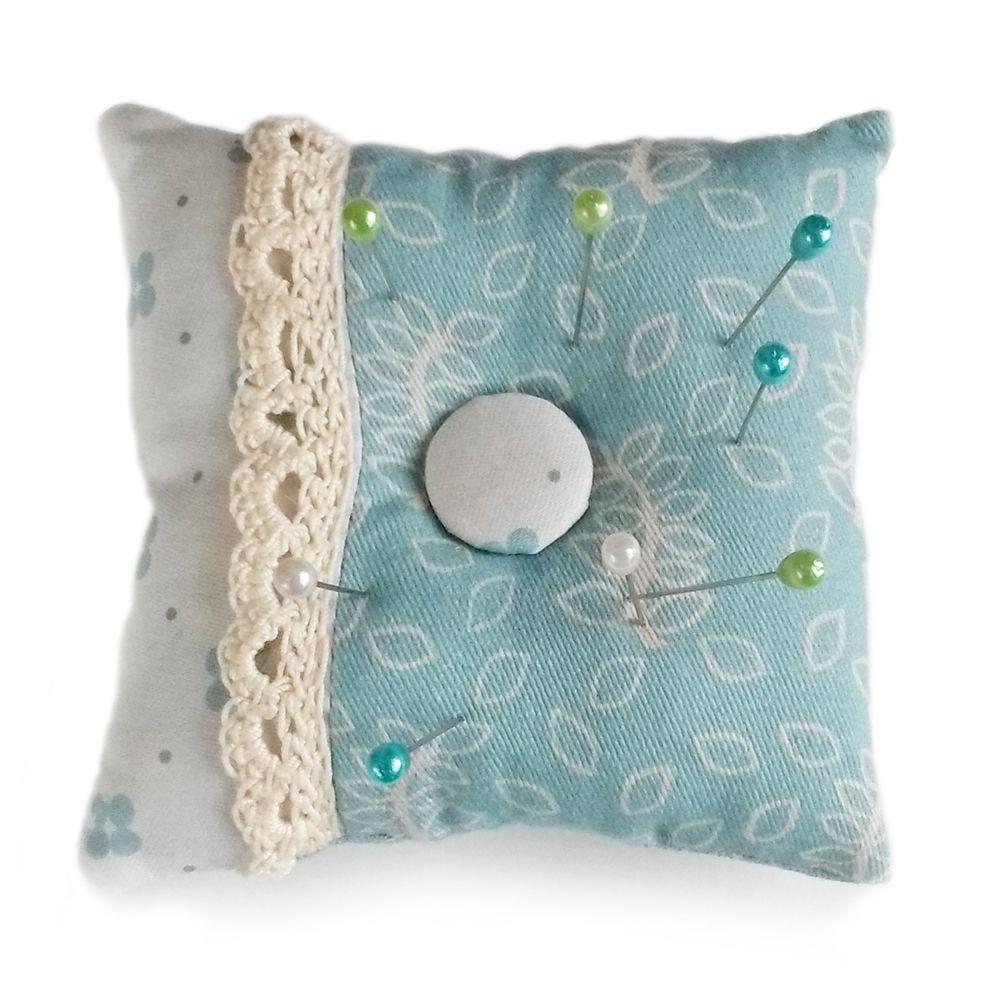 Duck egg design pin cushion