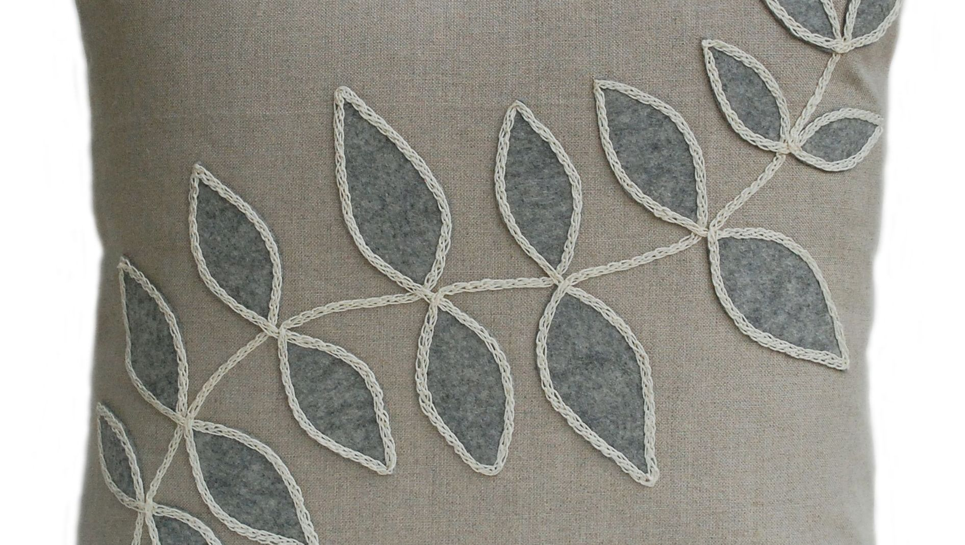 grey-leaf-linen-cushion-Nutmegandsage