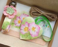 Wildflower seed gift - Rosa themed
