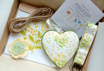 Wildflower seed gift - Cowslip themed