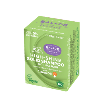 High-Shine Solid Shampoo for Normal Hair