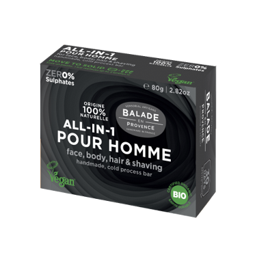 100% Natural All-in-one Bar For Men