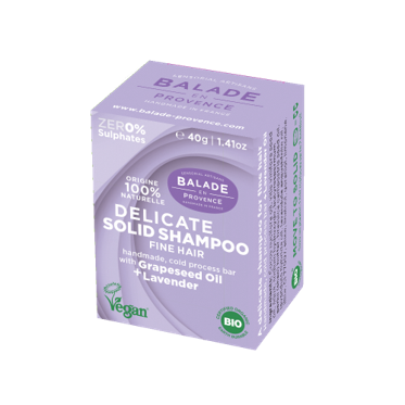Delicate Solid Shampoo for fine hair