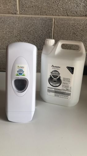 Ecohydra 1 L easy fill plus 5 L jerry can