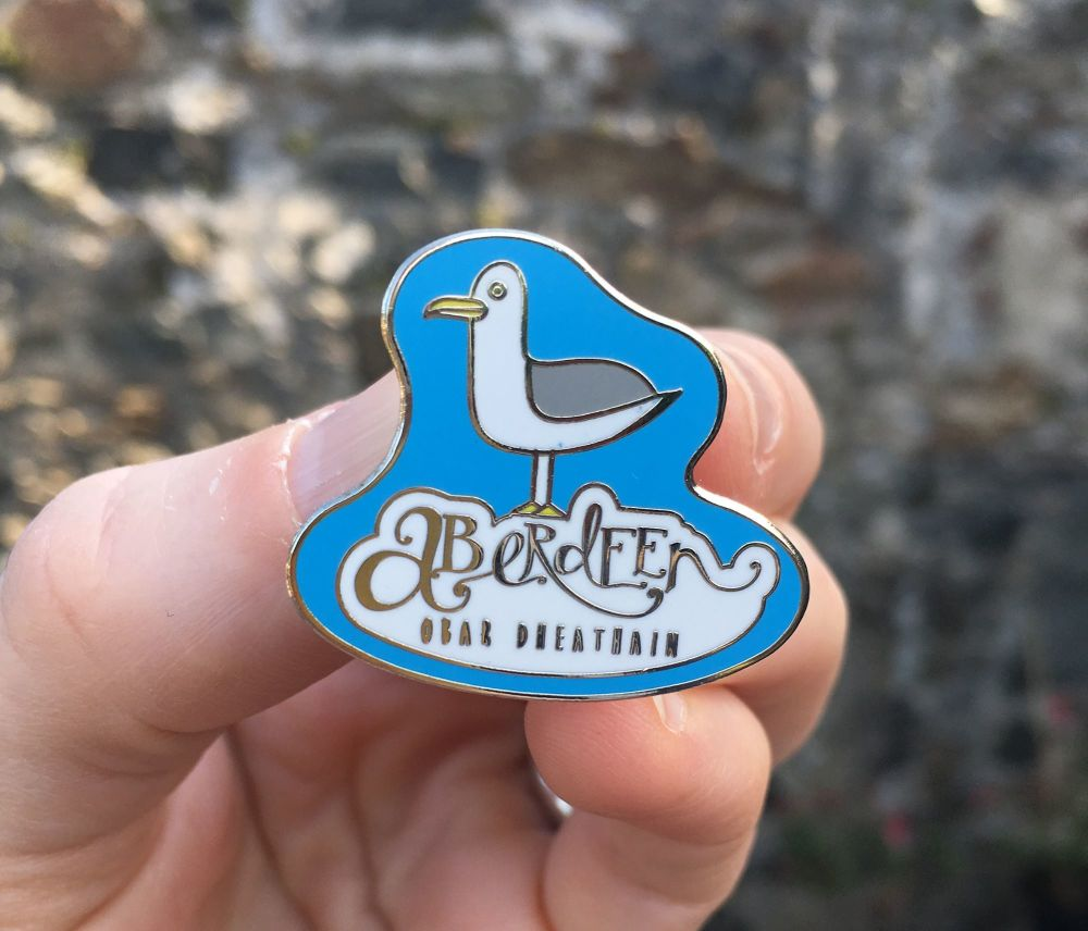Aberdeen Seagull enamel pin