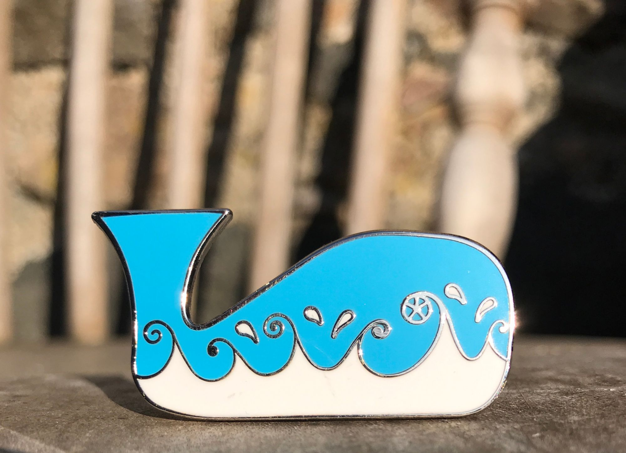 whale badge