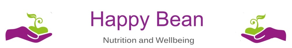 Happy Bean Wellbeing and Nutrition, site logo.