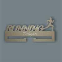 Medal RUNNING Hanger / Laser Cut Delights