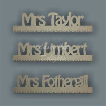 Teachers Personalised Ruler 3mm
