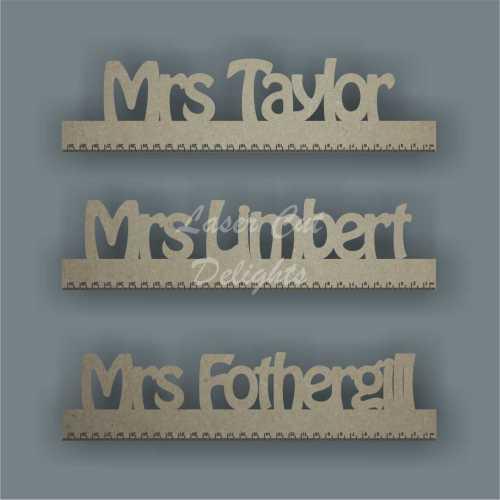 Teachers Personalised Ruler 3mm