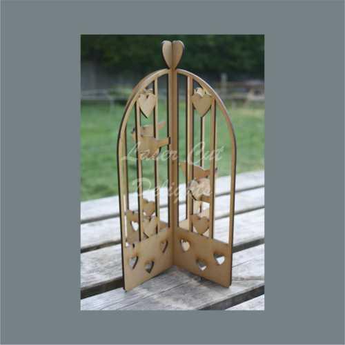 3D Love Birdcage 30cm