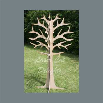 Tree LARGE Tree with branches COLLECTION ONLY / Laser Cut Delights
