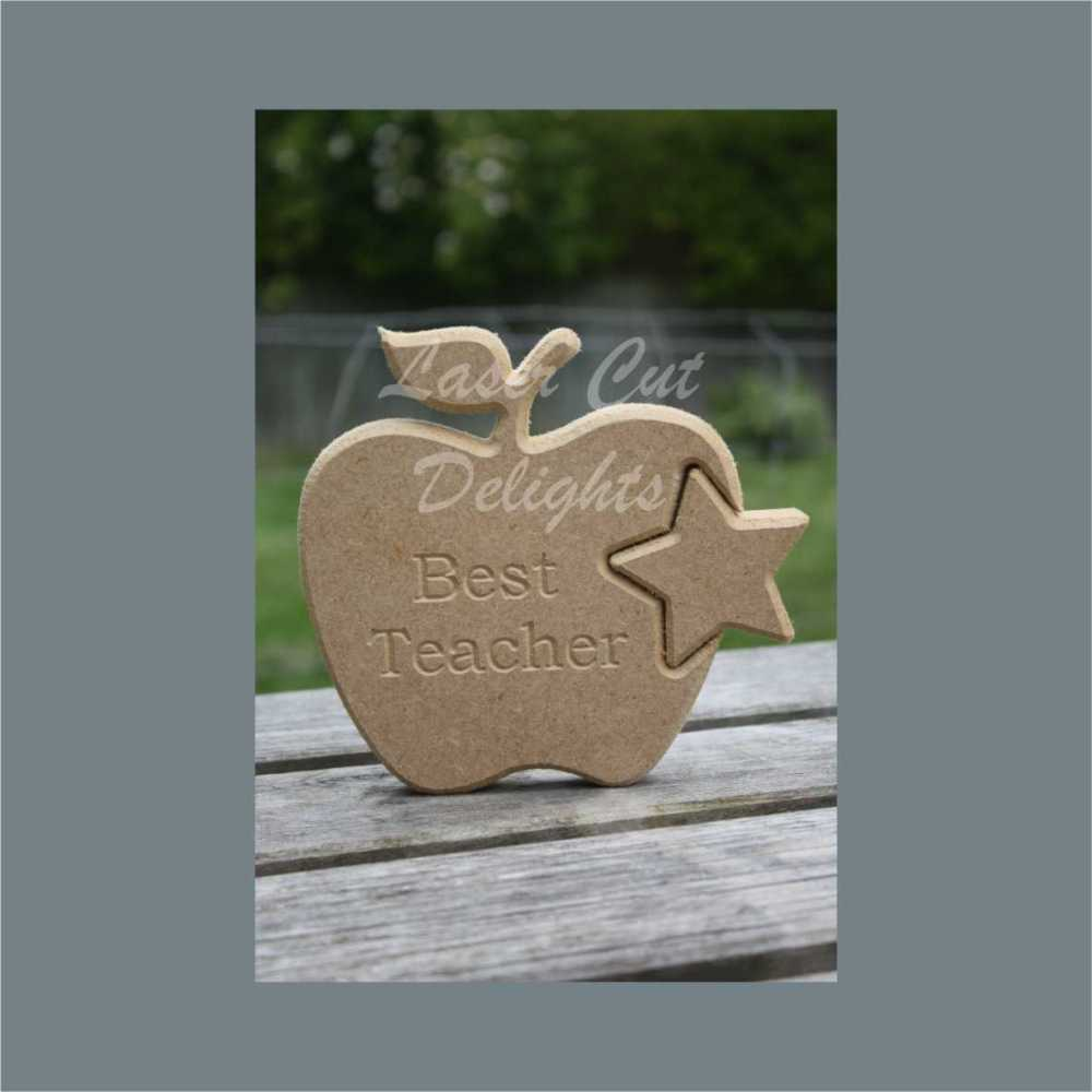 Shape in Apple / Laser Cut Delights