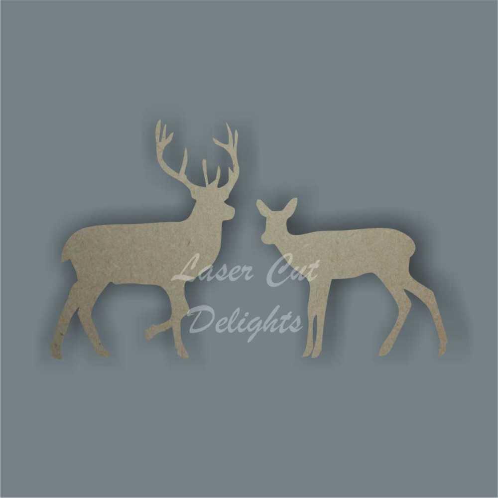 Stag / Buck or Doe / Deer 3mm