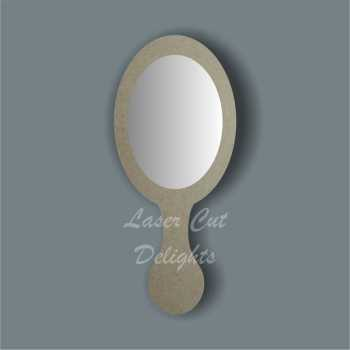 Handheld Mirror OVAL 3mm 25cm
