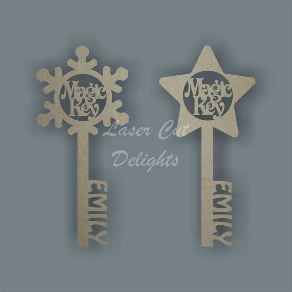 Magic Keys  - Can be Personalised 3mm 20cm