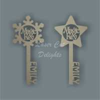 Magic Keys  - Can be Personalised 3mm 20cm
