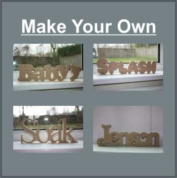 *Make Your Own Custom WORD 18mm
