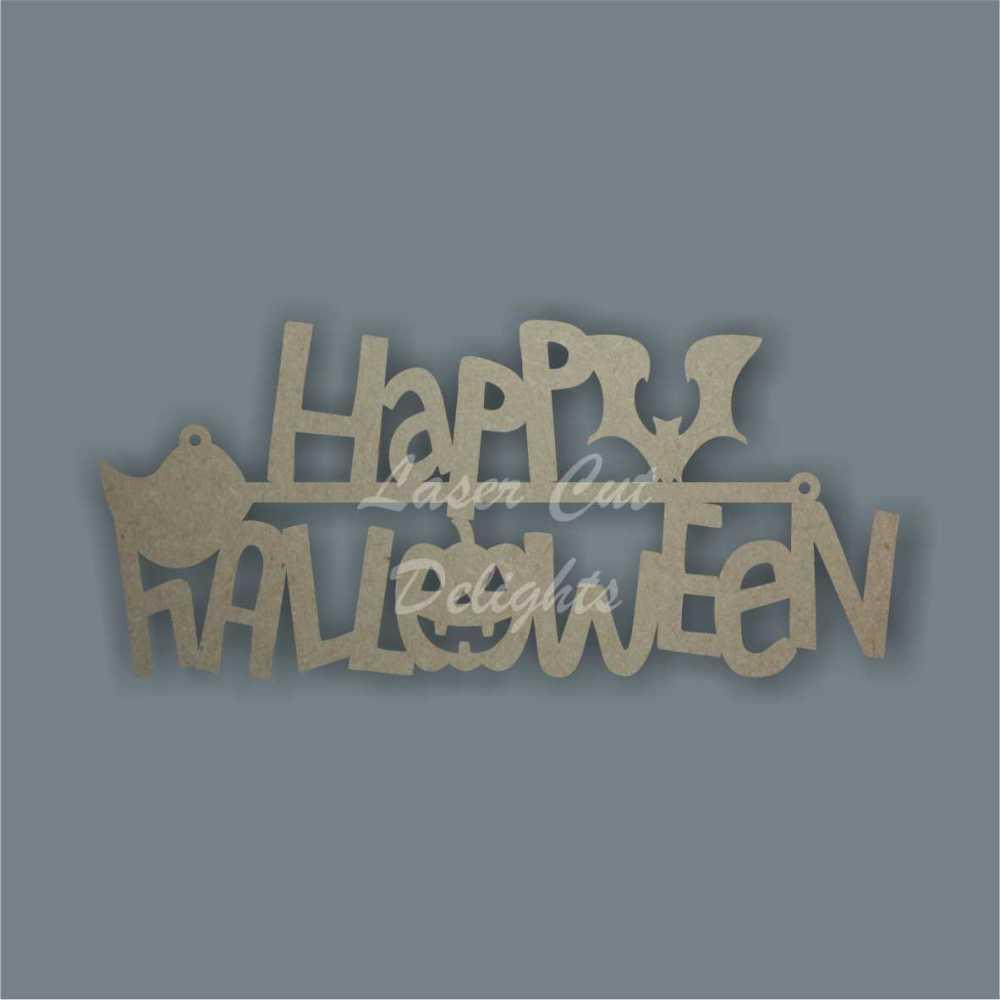 Happy Halloween 3mm 20cm