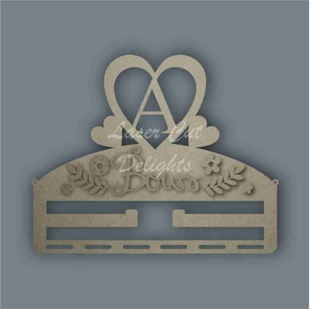 Bow Hangers with Initials