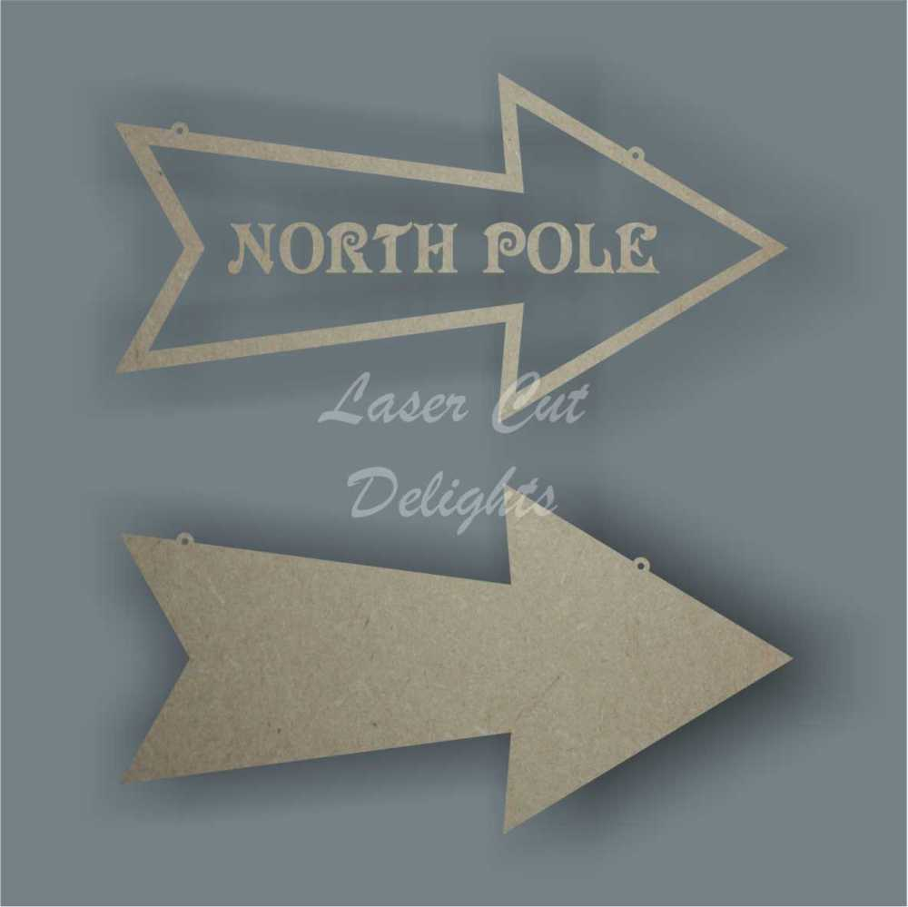 Arrow - North Pole / Santa's Grotto 3mm 30cm