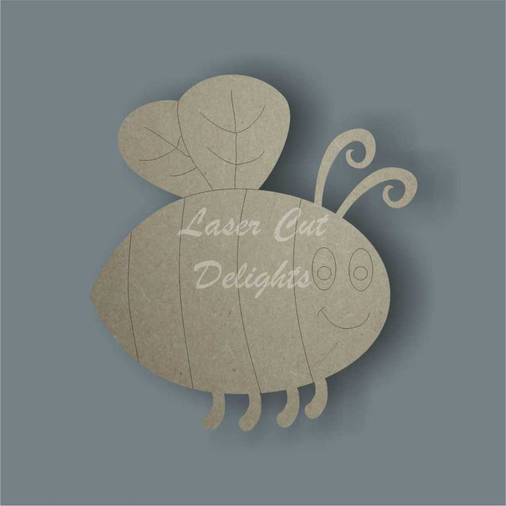 Bee Cute 3mm / Laser Cut Delights