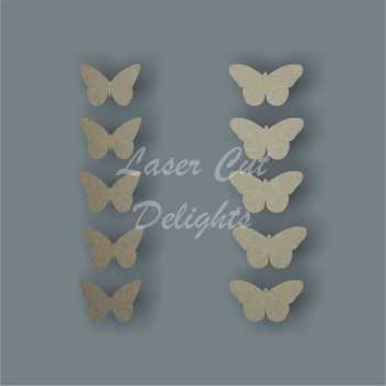 Butterfly Pk of 10 3mm