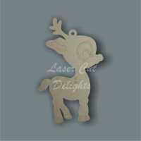 Reindeer Cute Cartoon / Laser Cut Delights