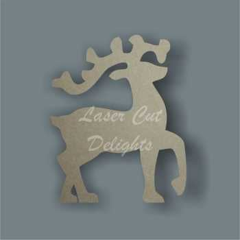 Reindeer Stepping Outline 3mm 10cm