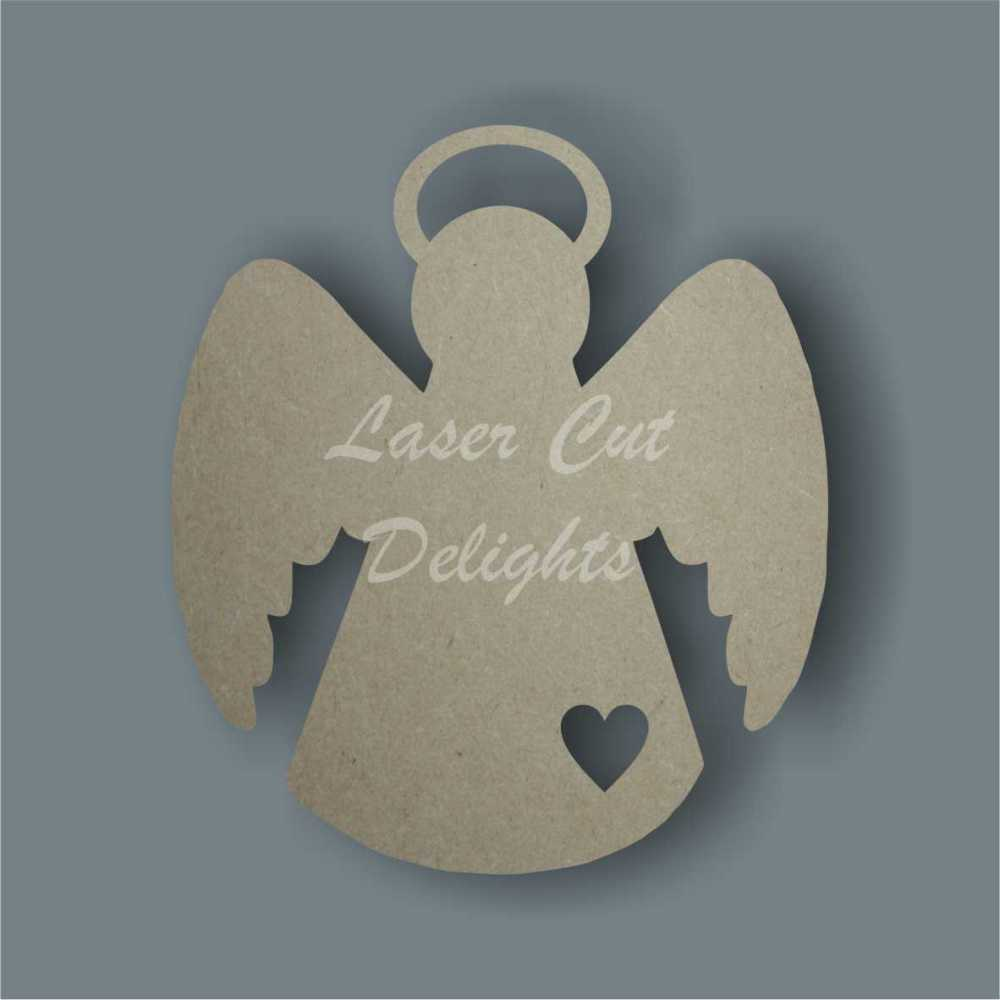 Angel with Halo / Laser Cut Delights