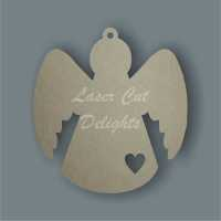 Angel with shape / Laser Cut Delights