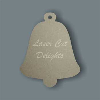 Bauble Bell Basic 3mm 10cm