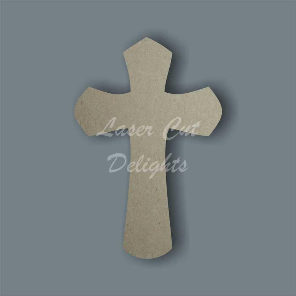 Cross (curved) / Laser Cut Delights