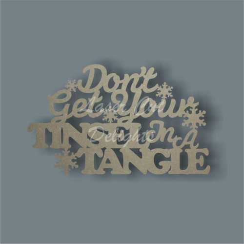 Don't get your tinsel in a tangle 3mm 35x21cm