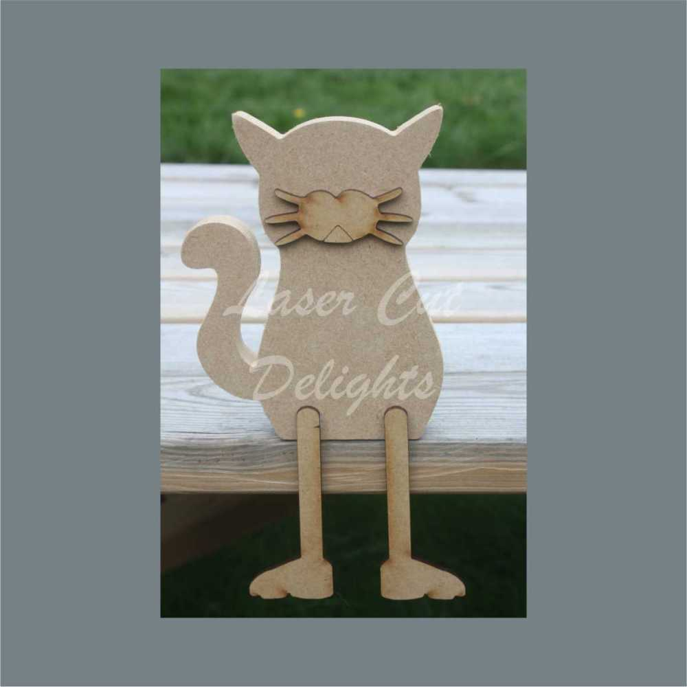 Edge Dangling CAT 18mm / Laser Cut Delights