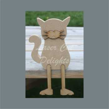 Edge Dangling Leg or Freestanding 3D CAT 18mm 15cm