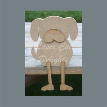 Edge Dangling DOG 18mm / Laser Cut Delights